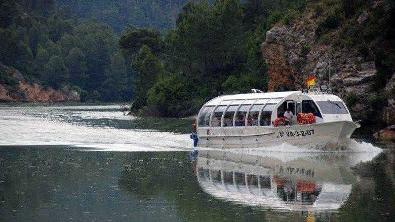Crucero ruta fluvial por el Júcar