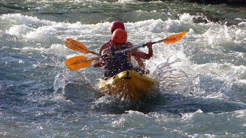 Rafting o canoa - Río Cabriel: agua brava