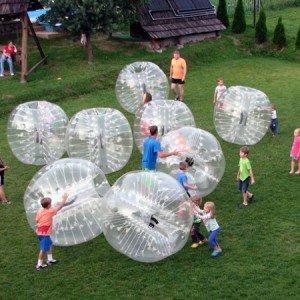 Bumper Ball. El fútbol en burbuja.