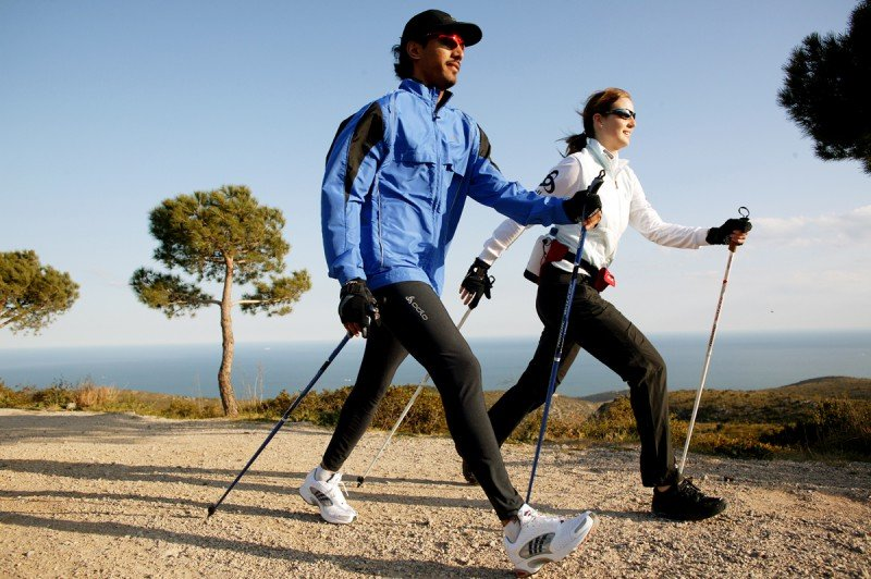Nordic Walking o Marcha Nórdica
