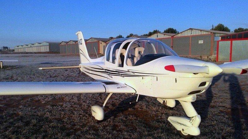 Iniciación de vuelo en avioneta ultraligera