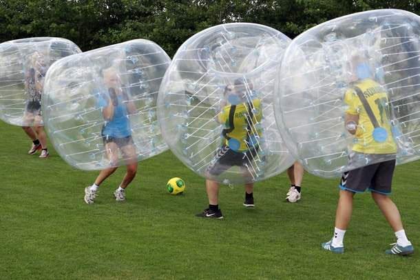 Bumper Ball: Todo adrenalina todo diversión