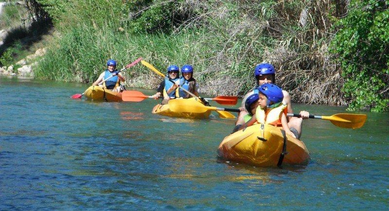 canoa y quad