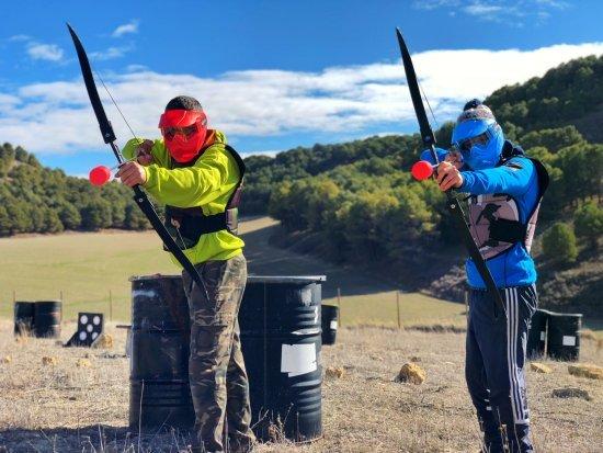 Archery Tag. Lo último para grupos
