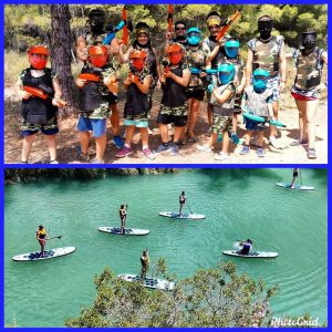 Paddle Surf y Paintball Soft